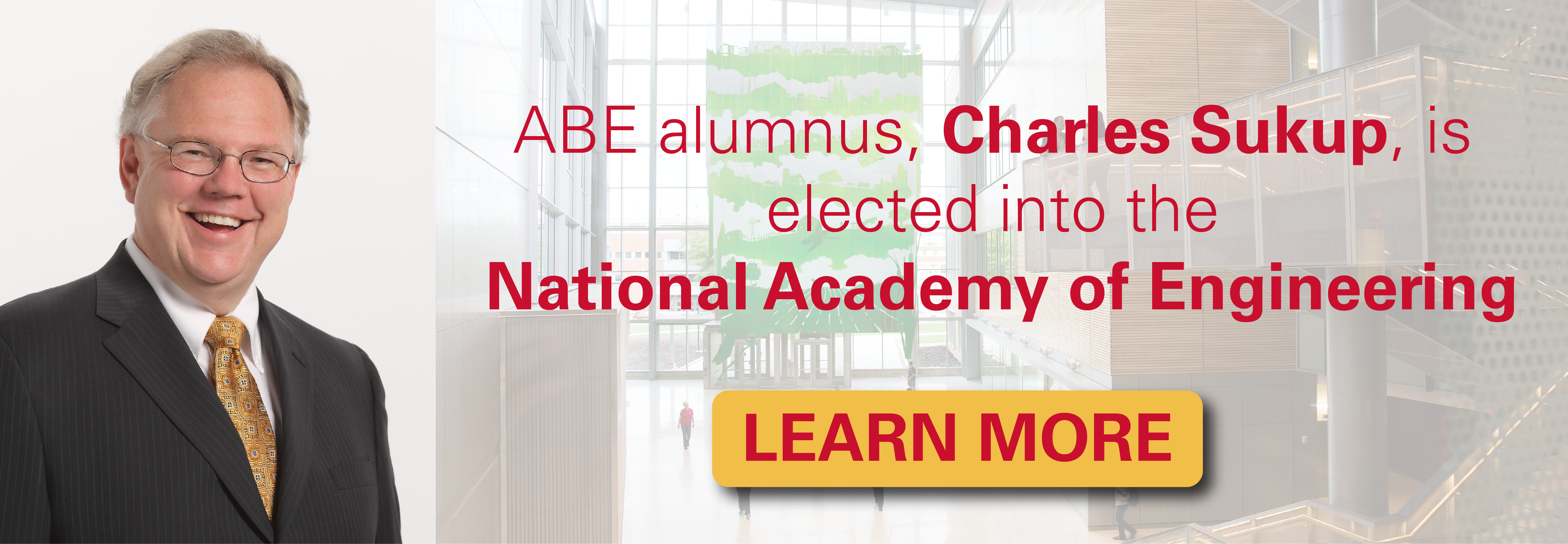 ABE alumnus, Charles Sukup, is elected into the National Academy of Engineering