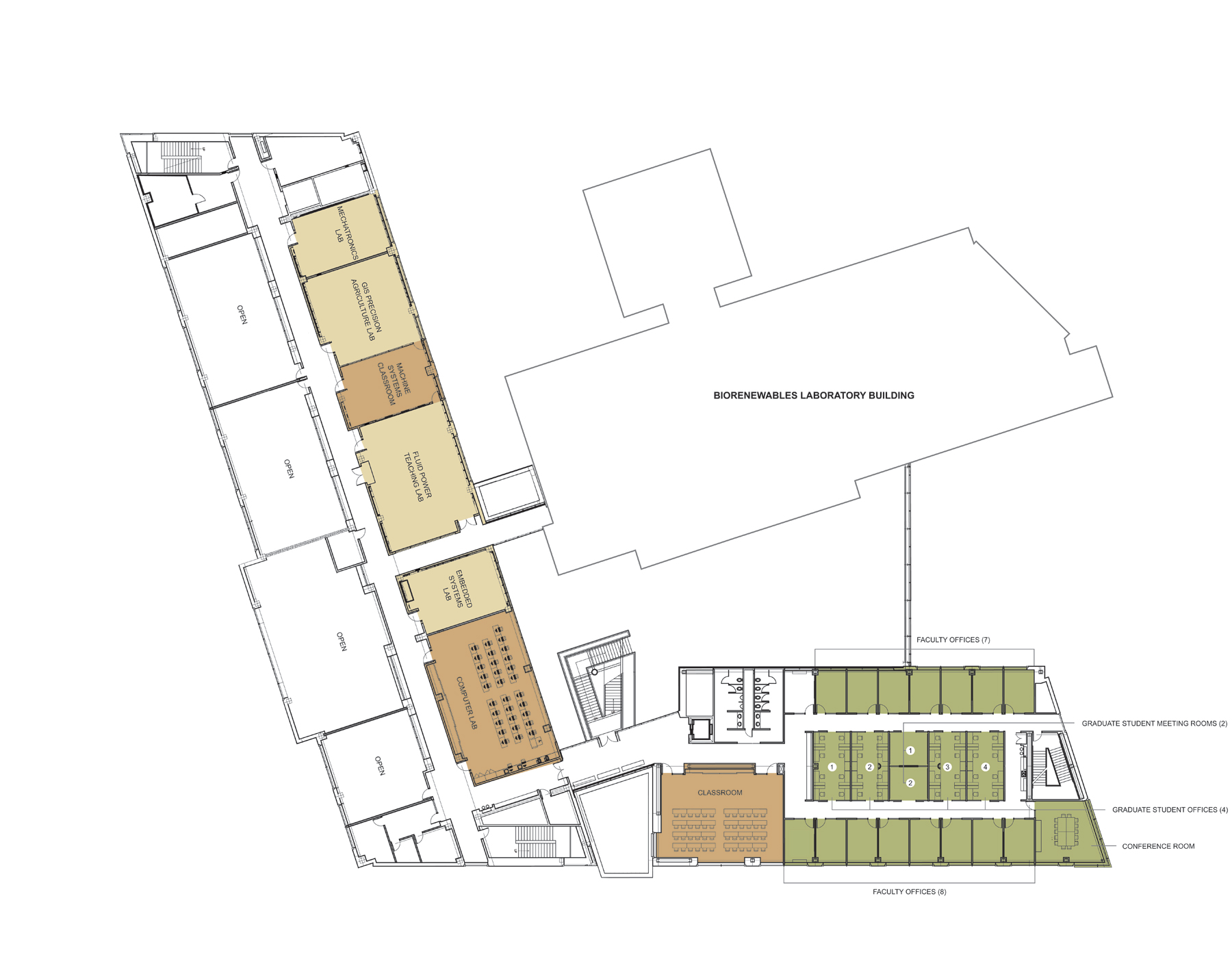 Building Floor Plans Department Of Agricultural And Biosystems
